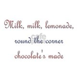 Milk, Lemonade, Chocolate Mug