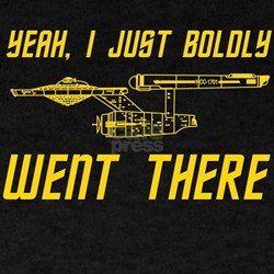 Boldly Went There T-Shirt