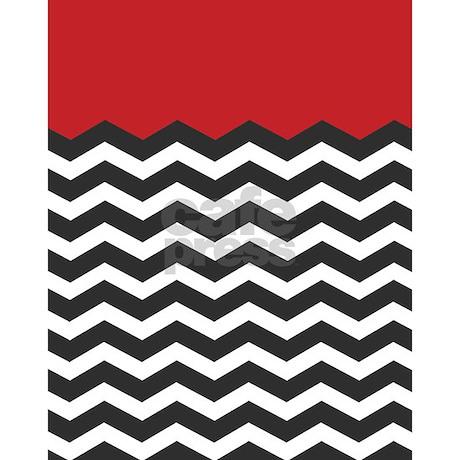 Red black and white chevron twin duvet jpg color white amp height 460