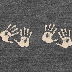 Four Hands Long Sleeve Maternity T-Shirt