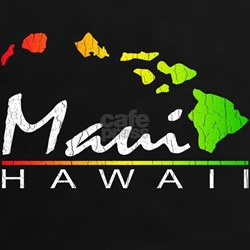 MAUI Hawaii (Distressed Design) T-Shirt
