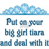 Big Girl Tiara Mug