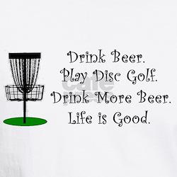 Drink Beer Play Disc Golf