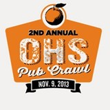 2nd Annual OHS Pub Crawl  Shot Glass