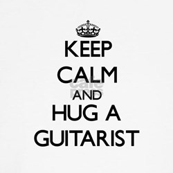 Keep Calm and Hug a Guitarist Shirt