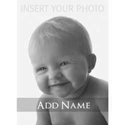 Add Photo Modern Design T-Shirt