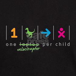 onevelociraptorperchild_cropped T-Shirt