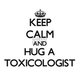 Keep Calm and Hug a Toxicologist Water Bottle