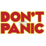 Dont Panic iPad Small Mug