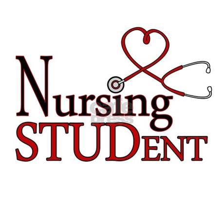 Nursing Student Cute Heart Stethoscope Pillow Case By