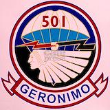 501st airborne Performance Dry T-Shirts