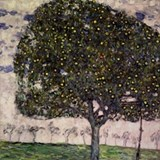The Apple Tree II by Gustav Klimt Drinking Glass