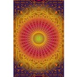 New-Dawn-Mandala-Art-P Water Bottle