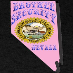 Nevada Brothel Security T-Shirt
