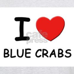 I love blue crabs Ash Grey T-Shirt