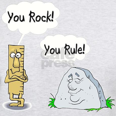 You Rock You Rule T Shirt By Admin Cp8440108