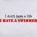 Swimmer mom T-shirts