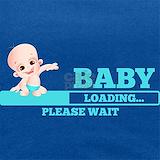 Baby loading please wait T-shirts