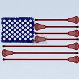 American flag lacrosse shirts Baby Hats