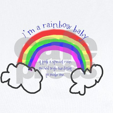 Rainbow Baby Onesie By Rebmandesigns
