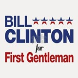 Bill Clinton For First Gentleman Shot Glass