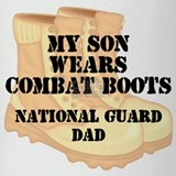 National Guard Dad Daughter Desert Combat Boots Dr