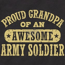 Proud Army Grandpa T
