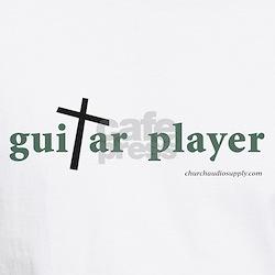 Guitar Player Cross 1 Shirt