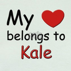 My heart belongs to kale T