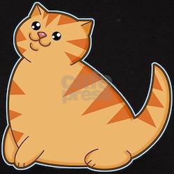 Happy Fat Orange Cat Tee