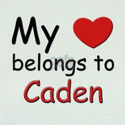 My heart belongs to caden T