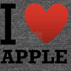 i-love-apple Long Sleeve Maternity T-Shirt