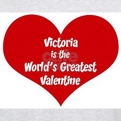 Greatest Valentine: Victoria Ash Grey T-Shirt