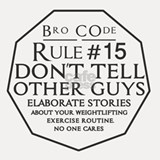Bro Code Rule #15 Shot Glass