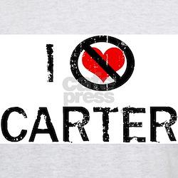I Hate CARTER Ash Grey T-Shirt