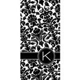 Damask Pattern with Le Water Bottle