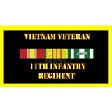 army-11th-infantry-regiment-vietnam-lp Coffee Mug