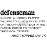 defenseman Small Mug