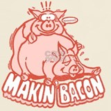 Making bacon T-shirts