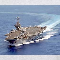 USS Carl Vinson CVN70 Ash Grey T-Shirt