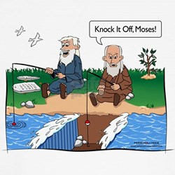 Fishing With Moses Shirt