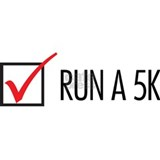 Run a 5K Check Box Mug