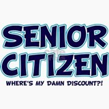 senior citizen damn discount li Ceramic Travel Mug