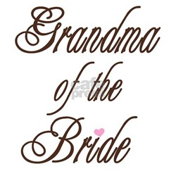 Grandma of the Bride Shirt