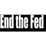 End-theFed-Bumper-Sticker Mug