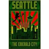 Seattle_The_Emerald_Ci Water Bottle