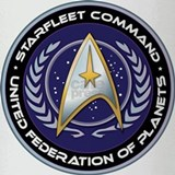 Starfleet Command Drinking Glass