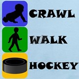 Crawl walk hockey Baby Bodysuits