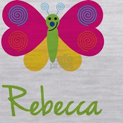 Rebecca-the-butterfly Maternity Tank Top