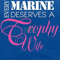 MarineTrophyWife_DarkShirt Maternity Tank Top